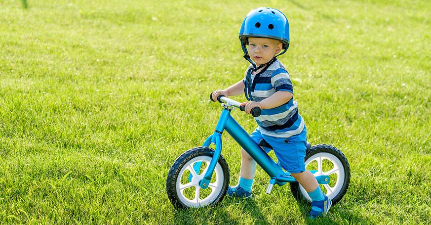 Lär dig cykla med balanscyklar